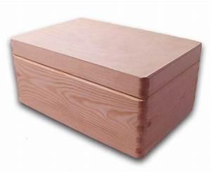 Aufbewahrungsbox Mit Deckel Holz : gro e aufbewahrungsbox holzkiste mit deckel kiefer unbehandelt holzartikel holz rohlinge ~ Bigdaddyawards.com Haus und Dekorationen