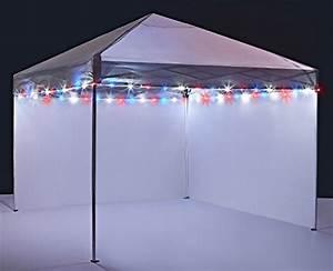Brightz  Ltd  Canopy Brightz Led Tailgate Canopy And Patio