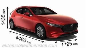 Dimension Mazda 3 : mazda 3 2019 dimensions boot space and interior ~ Maxctalentgroup.com Avis de Voitures