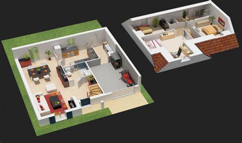 plan maison cuisine ouverte plan de maison avec cuisine ouverte maison design