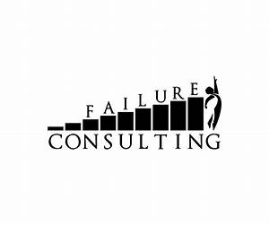 Bold, Serious Logo Design for Failure Consulting by Just ...