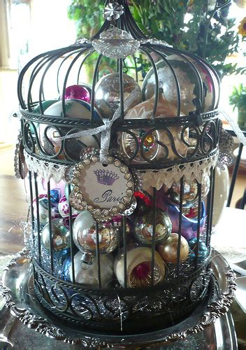 christmas bird cages add life and beauty to your home by decorating with birdcages a storybook life