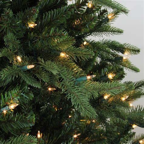 ashland pre lit windham spruce gordon companies inc 7 5 pre lit spruce artificial tree clear lights