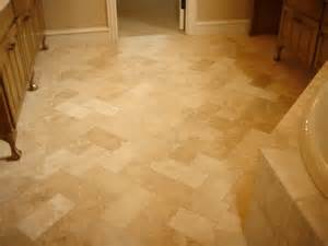 travertine flooring your model home