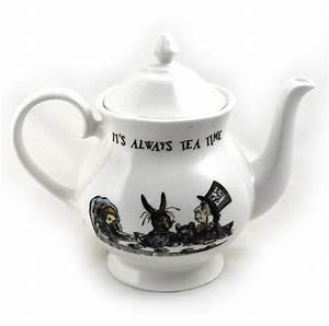 Teekanne Alice Im Wunderland : alice im wunderland 39 es hat immer tee zeit 39 feines porzellan gro teekanne ebay ~ Orissabook.com Haus und Dekorationen