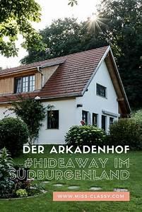 Hideaways Die Macht Der Liebe : der arkadenhof hideaway im s dburgenland sterreich ~ Watch28wear.com Haus und Dekorationen