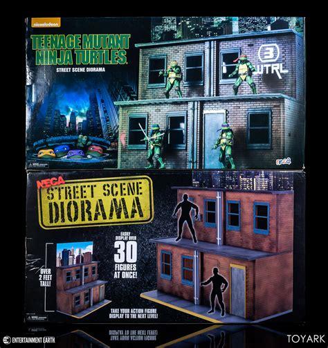neca street scene diorama display toyark photo shoot