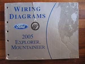2005 Ford Explorer Mercury Mountaineer Electrical Wiring Diagrams Service Manual