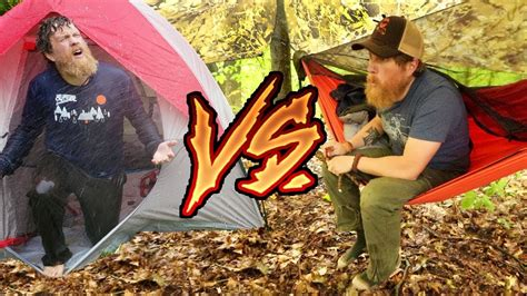 Tent Vs Hammock by Hammock Vs Tent Cing In The