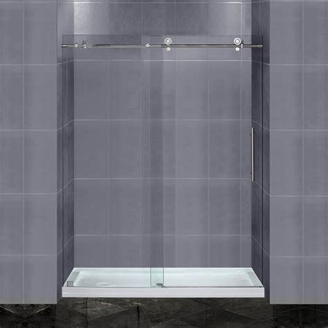 60 shower door florence 60 inch shower door ak trading home options