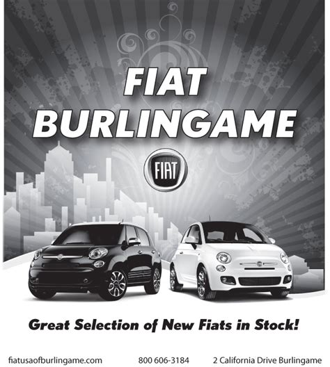 Fiat Of Burlingame wsf grand auction