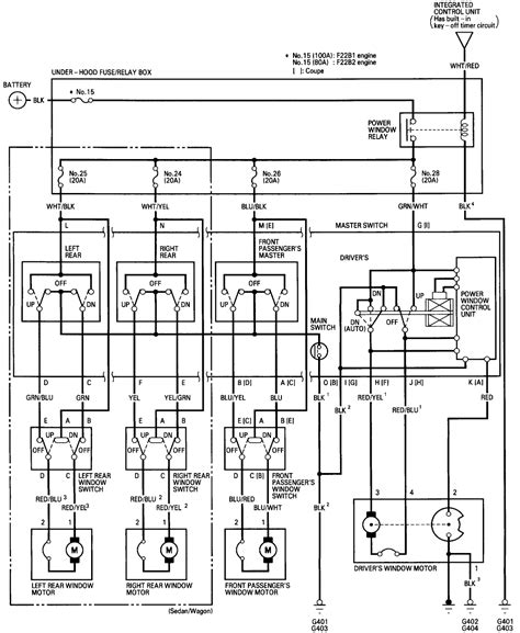 Honda Accord Alternator Wiring Diagram