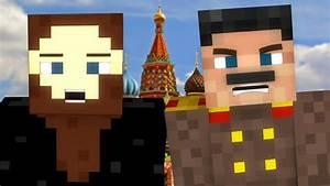 Epic Rap Battles Of History In Minecraft Rasputin VS