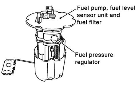 2003 Altima Fuel Filter Location by 2006 Nissan Sentra Fuel Pressure Regulator Location