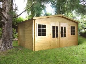 Buche De Bois Compressé Pas Cher : chalet exterieur jardin cabanes abri jardin ~ Dallasstarsshop.com Idées de Décoration