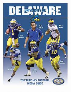 2012 Football Media Guide By Udbluehens Delaware