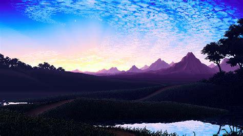 Nature, Pixel Art Wallpapers Hd / Desktop And Mobile