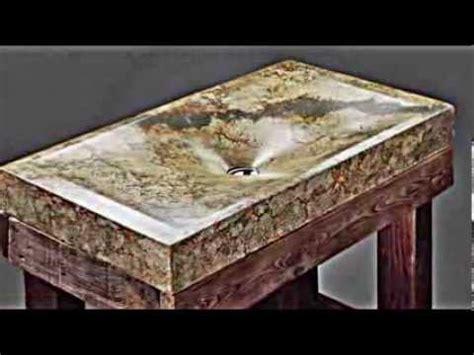 ausgefallene handgefertigte beton waschbecken