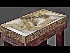 Waschbecken Aus Beton Selber Bauen : ausgefallene handgefertigte beton waschbecken youtube ~ Markanthonyermac.com Haus und Dekorationen