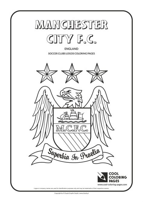 cool coloring pages manchester city fc logo coloring page cool coloring pages