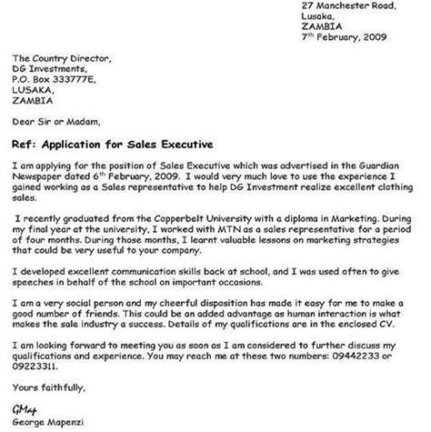 sample   email job application letter nigeria