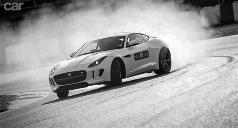 Drifting The Trousers Off The 2014 Jaguar F-type R Coupe