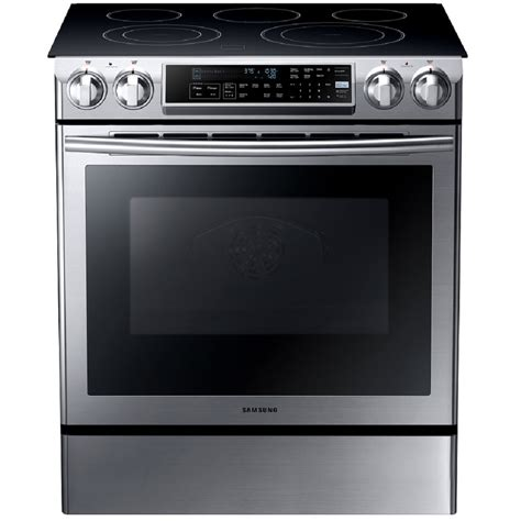 ge slide in gas range reviews shop samsung smooth surface 5 element self cleaning slide