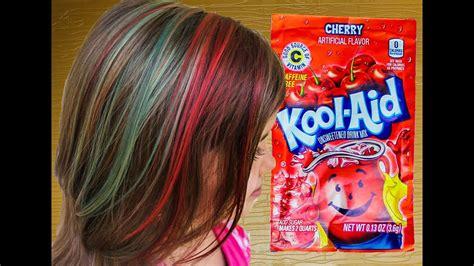 Rainbow Kool Aid Dyed Hair For Kids Like Rainbow Dash Diy
