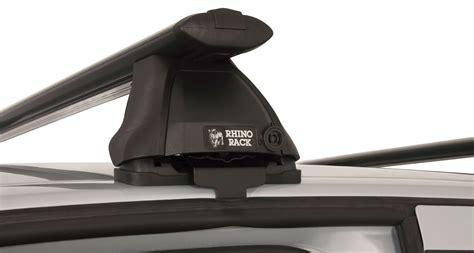 ja vortex  black  bar roof rack rhino rack