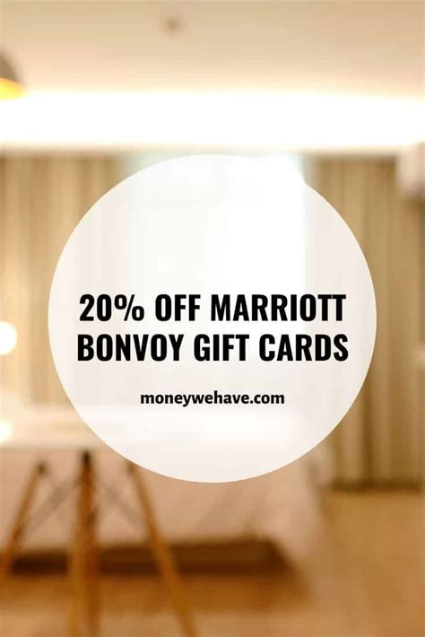One easy way to insure you will not have an issue is to put the gc on your marriott bonvoy profile. 20% off Marriott Bonvoy Gift Cards - Money We Have