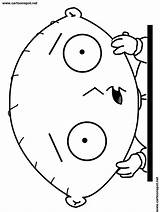 Coloring Stewie Guy Griffin Vingel Popular Angry Sheets sketch template