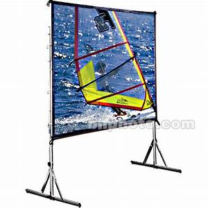 Draper 218045 Cinefold Portable Projection Screen 218045