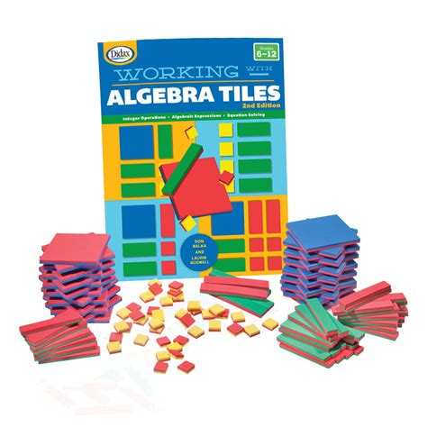 algebra tiles classroom kit common core state standards