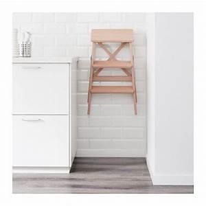 Ikea Küchen Zubehör : bekv m trittleiter 3 tritte ikea k che bekv m m bel und trittleiter ~ Orissabook.com Haus und Dekorationen