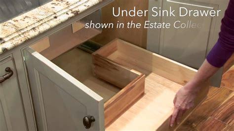 under sink drawers bathroom storage solutions under sink drawer youtube