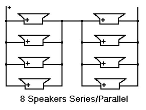 Wiring 8 Ohm Speaker In Series by Shavano Speaker Wiring Loading Exles