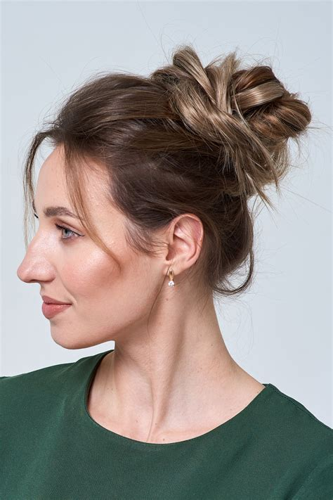 How To Make A Perfect Messy Bun No Matter Your Hair Length