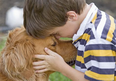 Having A Dog Can Help Ease Symptoms Improve Behavior In