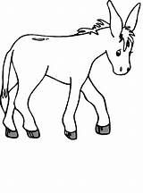 Donkey Coloring Printable Mule Cartoon Burro Template Animal Bestcoloringpagesforkids Bible Drawing Draw Printables Animals Esel Toddler Camel Results Activities sketch template