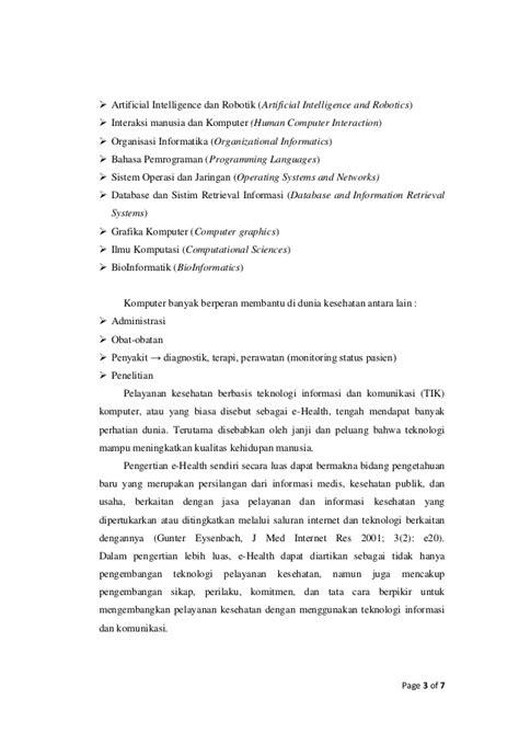 Artikel tentang sistem ilmu komputer dan internet
