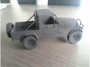 3D Printed Toy Car
