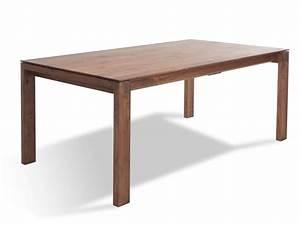 Holztisch Mit Metallgestell : ausziehbarer esstisch amalfi aus hochwertigem massivholz ~ Markanthonyermac.com Haus und Dekorationen