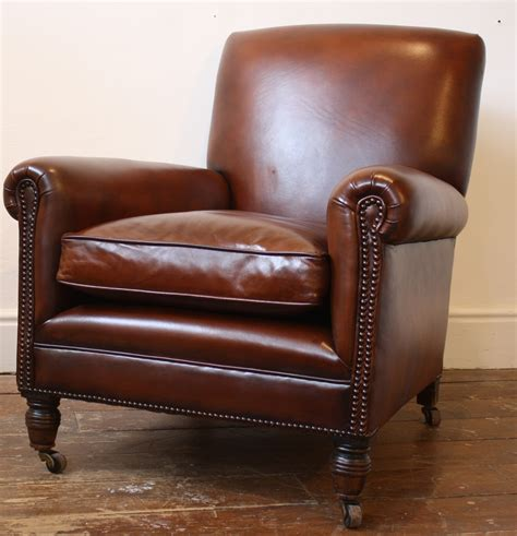 leather chair reupholstered leather chair antique leather chair