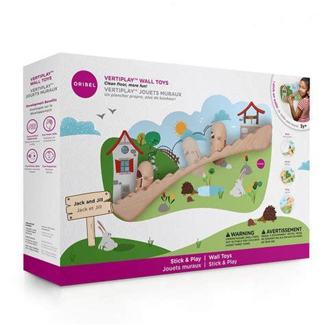 jack jill oribel vertiplay wall sticker toy temple