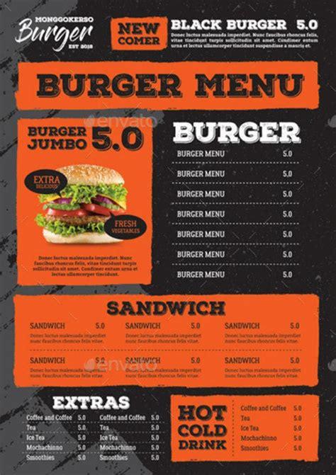 burger menu templates illustrator photoshop ms word