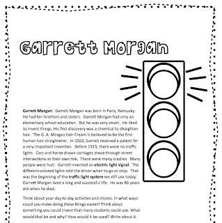 classroom freebies black history month garrett