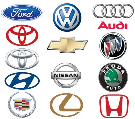 5 Best Images Of Car Brand Logos