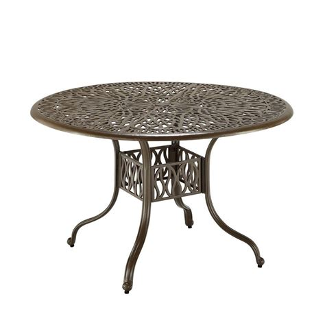 42 round dining table hton bay mix and match 42 in round mesh outdoor patio