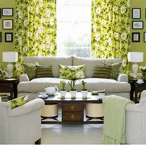 Brown green living room designs decor ideas living room for Green living room accessories
