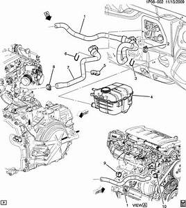 Chevrolet Cruze Hose  Heater  Hose  Htr Otlt